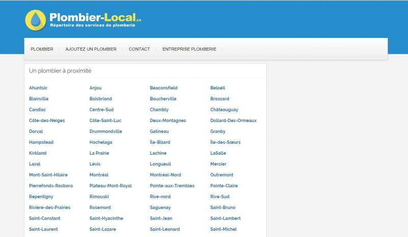 Plombier Local : trouvez un plombier dans votre ville